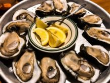 Oysters at the Original Oyster House in Gulf Shores