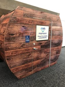 Mamava Breastfeeding Pods at CVG