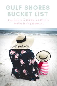 Gulf Shores Bucket List Activities