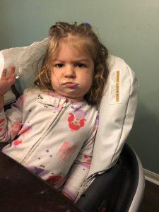 toddler tantrum while traveling