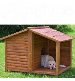 niche natura avec terrasse pour chien