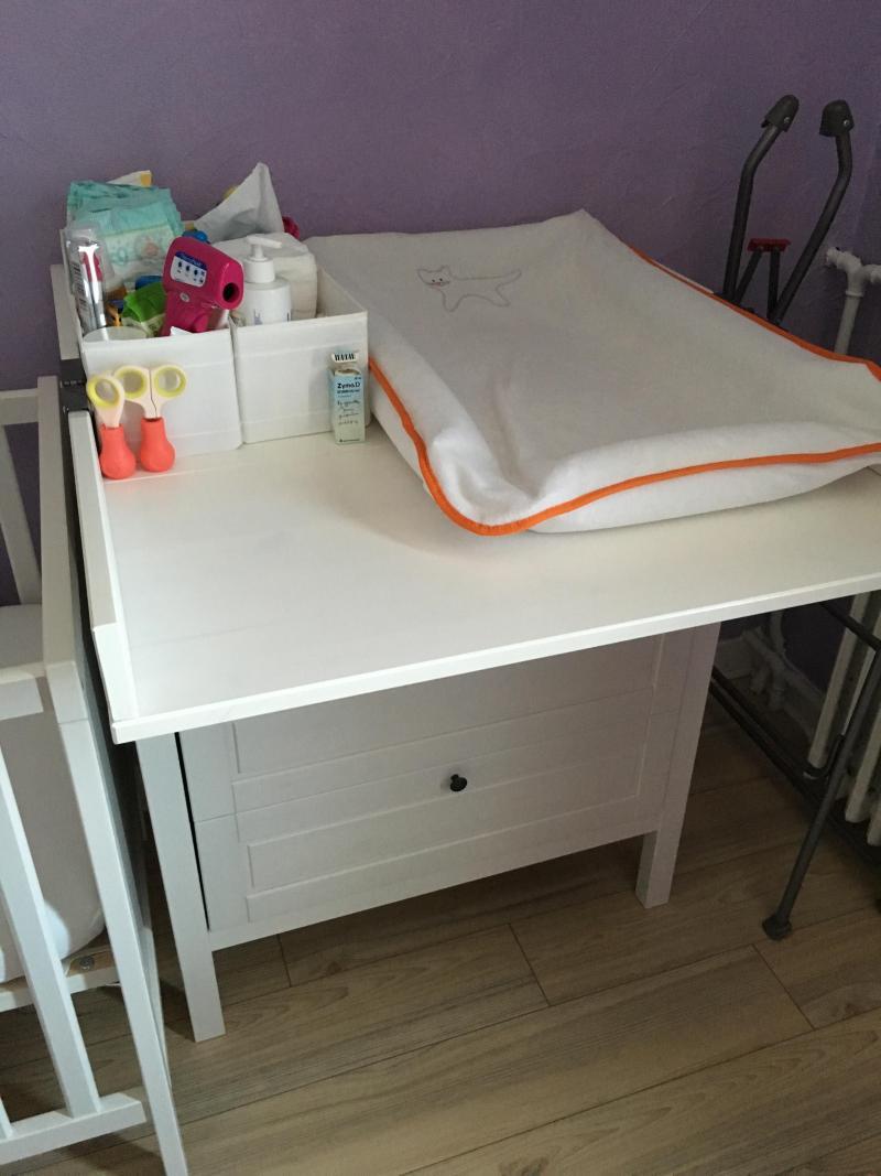 Table  langer rangement Leksvik IKEA  Avis