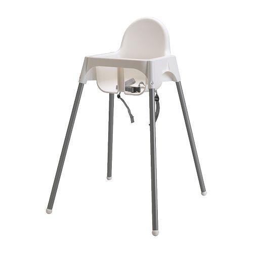 chaise haute avec ceinture antilop ikea