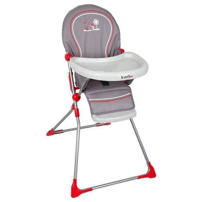 chaise haute keppler trottine