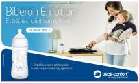 baby test emotion biberon bebe confort