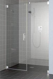 paroi de douche avec charnières