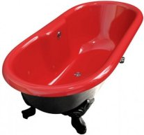 baignoire en fonte émaillée marque Oxame