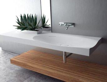 lavabo suspendu salle de bain