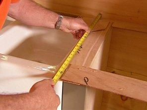 mesurer le meuble de cuisine