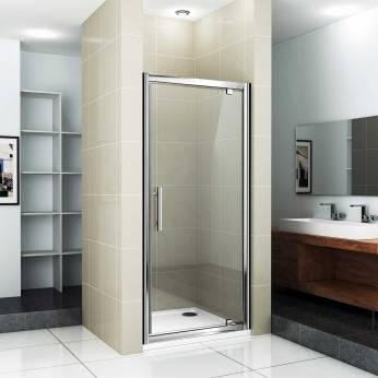 porte de douche qui pivote
