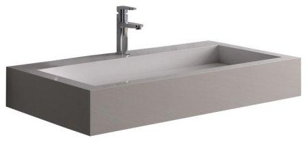 vasque de salle de bain en résine