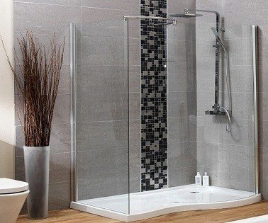 paroi de douche salle de bains