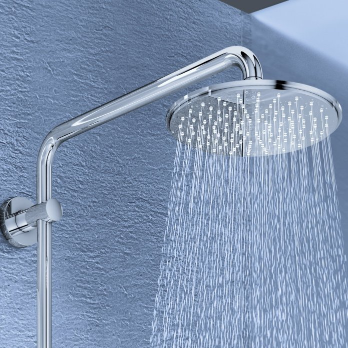 grohe inox rainshower 210