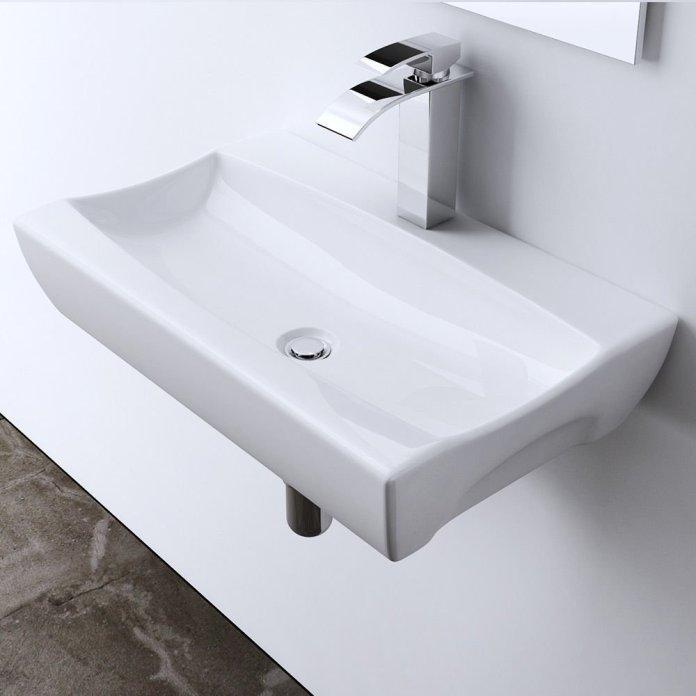 lavabo vasque design Bruxelles blanche