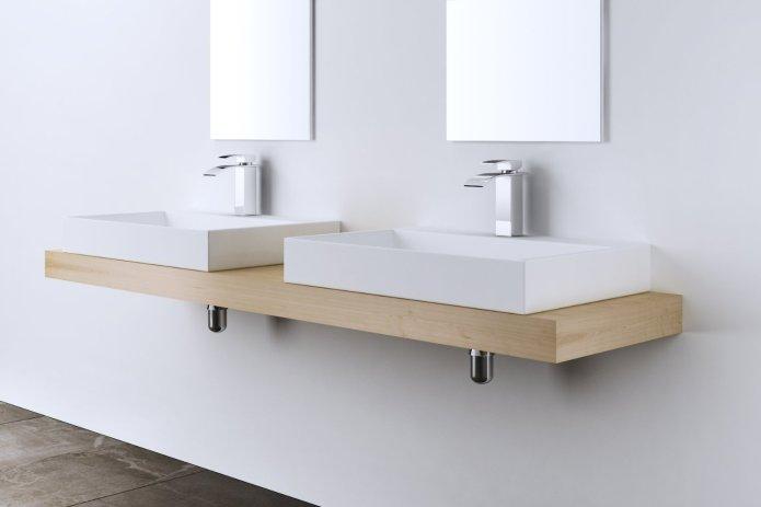 lavabo vasque à poser Colossum blanche