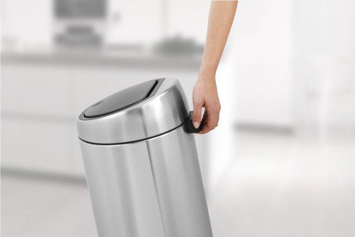 poubelle Brabantia touch-bin