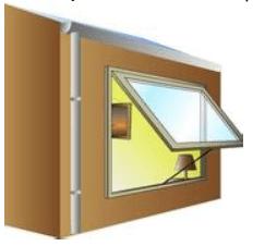 fenêtres à l'italienne