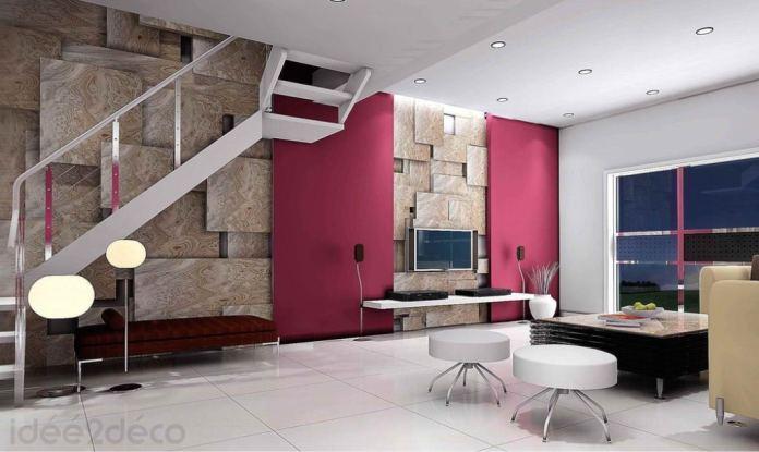 Comment décorer un grand duplexe par ses murs