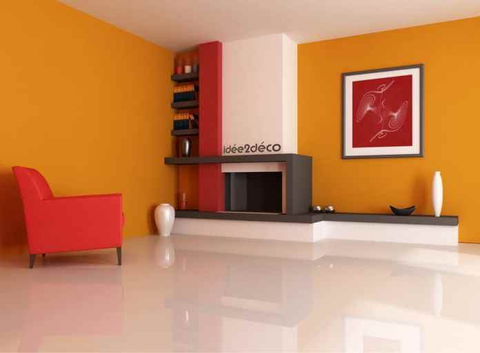 Idée de décoration pour salon épuré, moderne et chaleureux