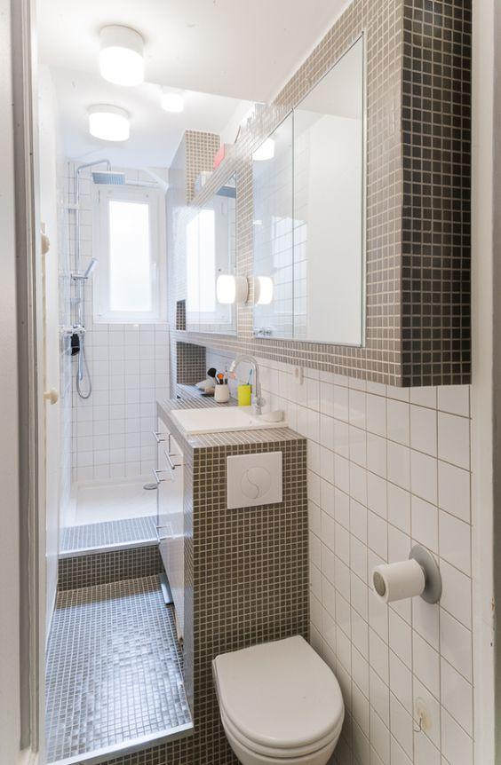 Salle de bain espaces surélevés