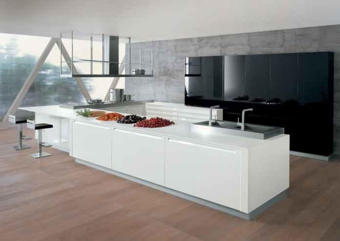 Décidément, la laque est la star des cuisines haut de gamme. En tout cas, nous, on adore!