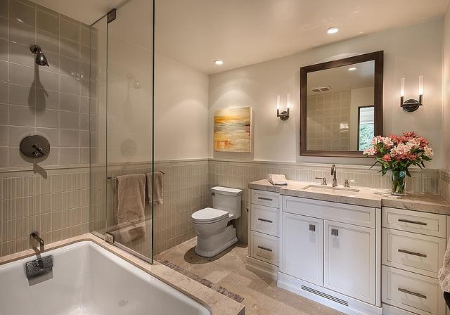 Déco salle de bain : 17 photos de salles de bains rustiques ...