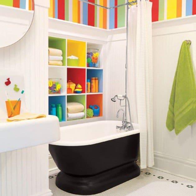 salle-de-bain-pour-enfant-multicolore