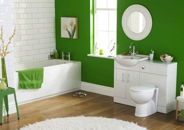 7 Salles De Bain Vertes Etonnantes La Fraicheur Dans Votre Salle De Bain