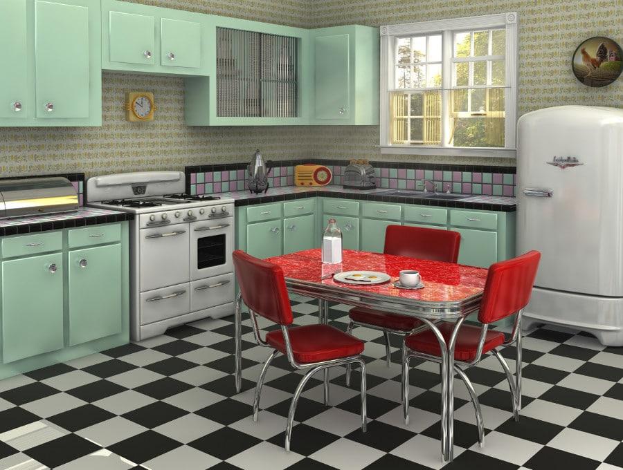 Cuisine vintage  6 modles vont vous faire regretter votre cuisine moderne
