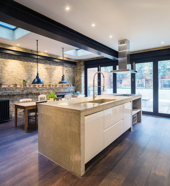 cuisine-moderne-avec-credence-en-briques
