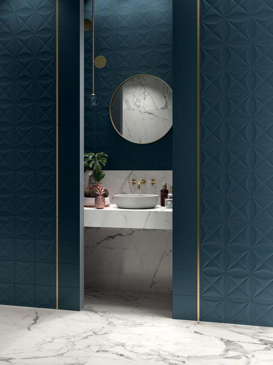 quel bleu pour la salle de bain 30