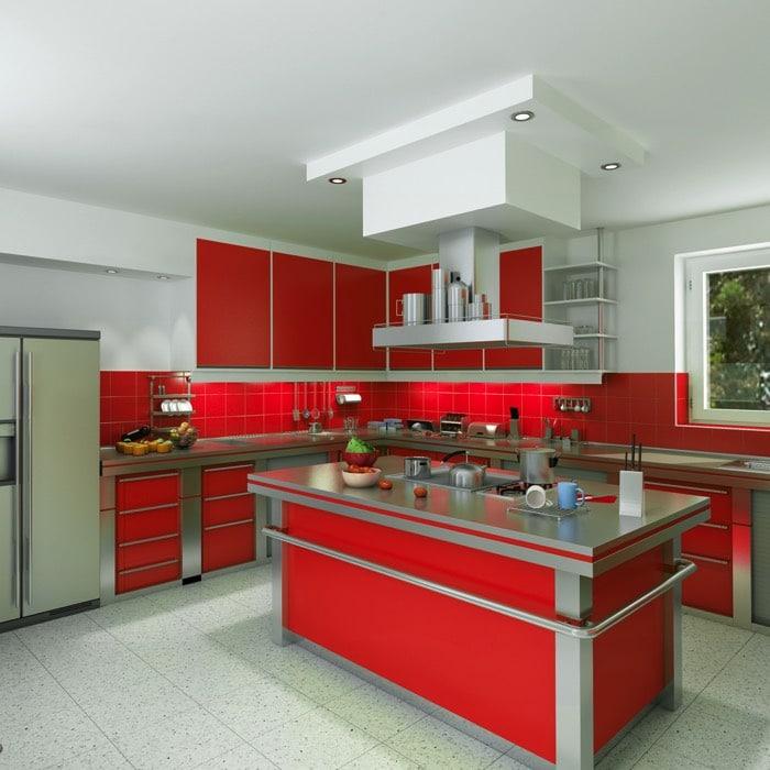 hotte de cuisine pour ilot central