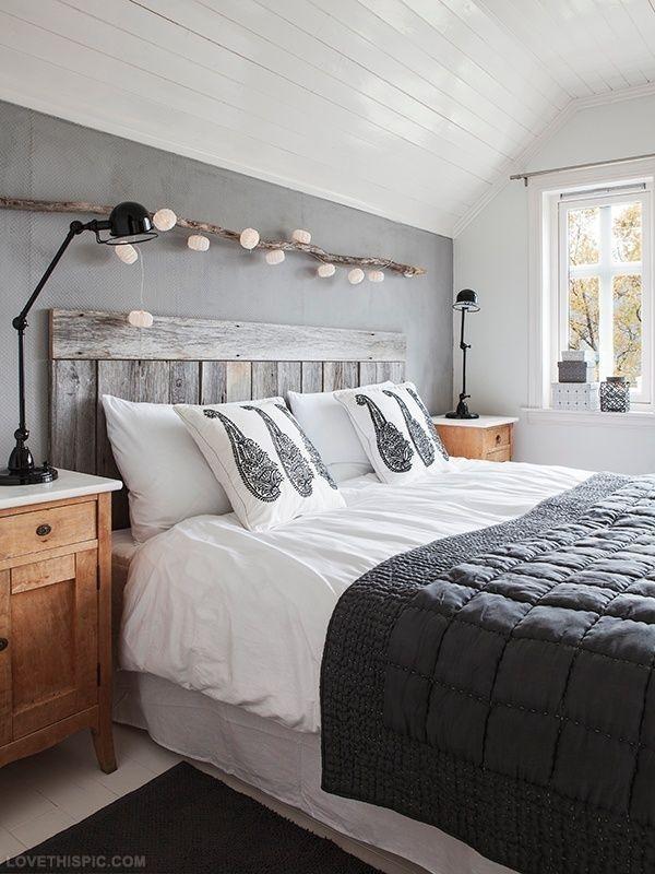 Tte de lit en palette  15 modles et astuces pour bien la fabriquer