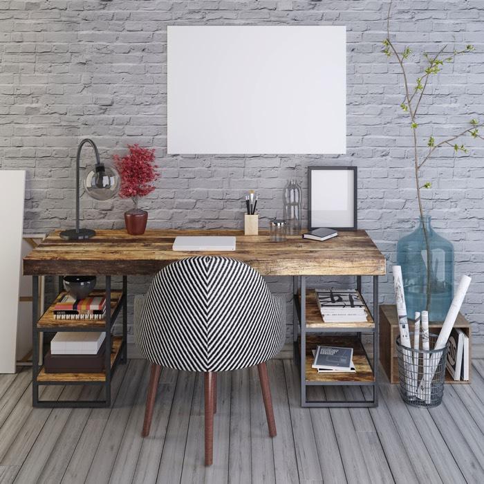 25 idées déco d\'un bureau maison : nos astuces pour le ...