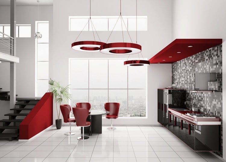 Salle A Manger Rouge 11 Modeles Modernes Et Traditionnels