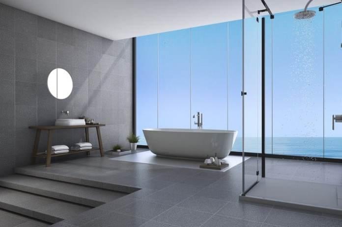 installation d'une colonne de douche hydromassante