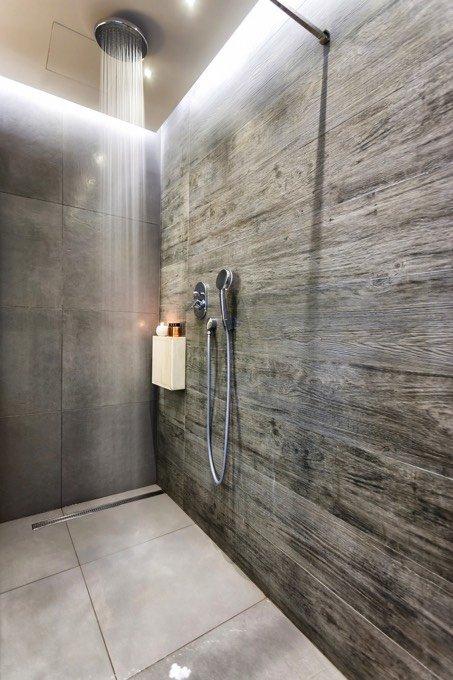 duchas empotradas en el techo
