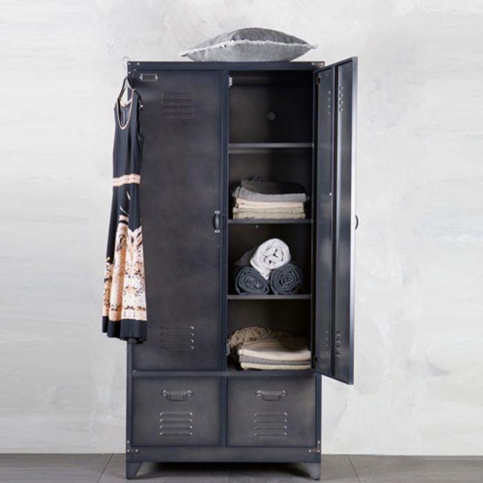 armoire metallique anthracite
