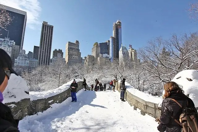 En Photos New York Dans La Glace Quand La Nature