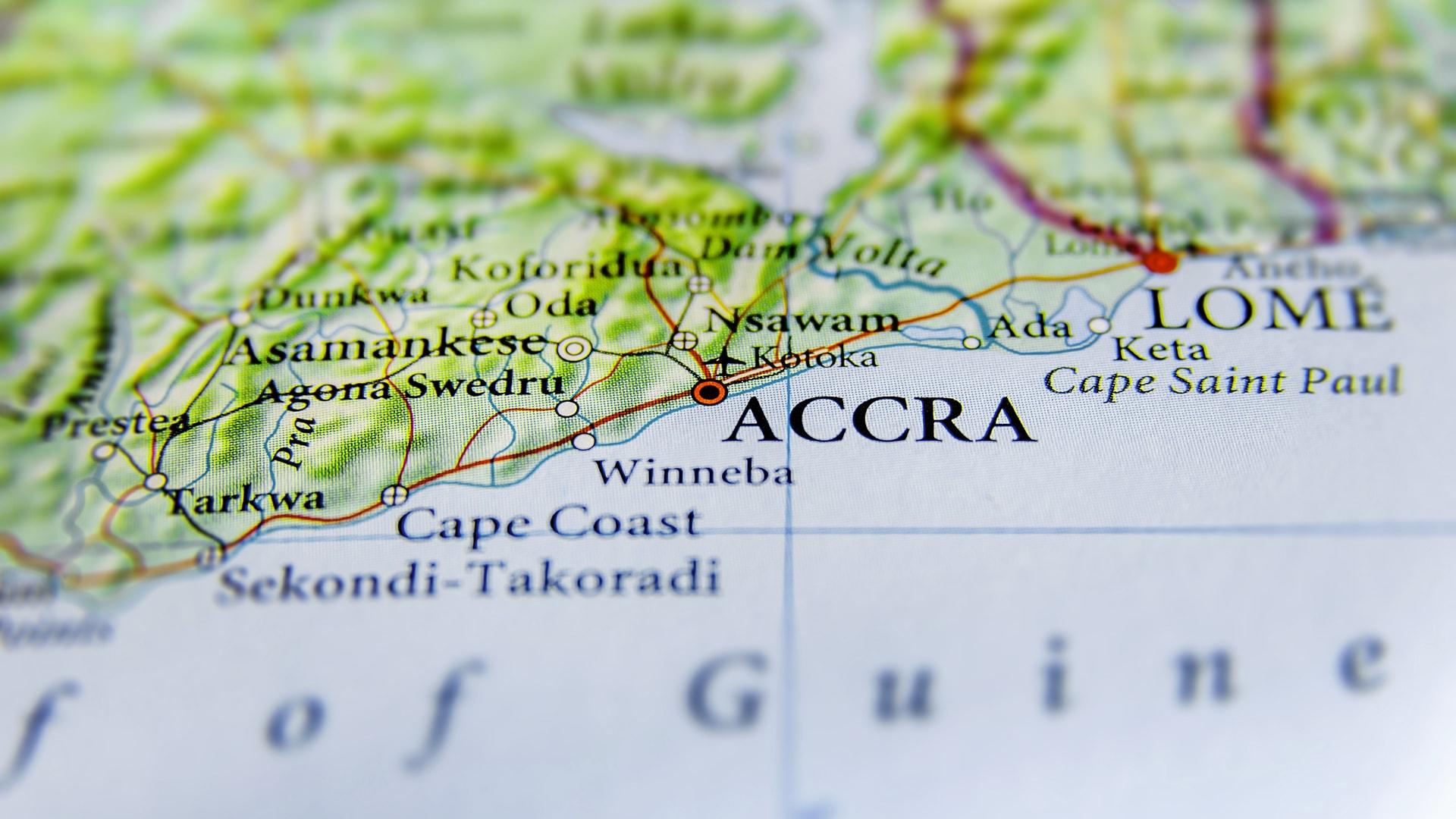 Ghana turismo Accra Italia
