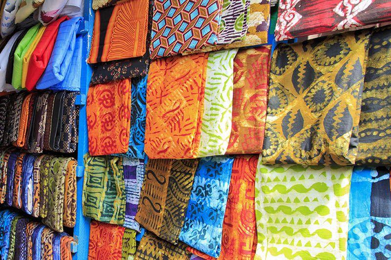 Tessuti al mercato Kejetia