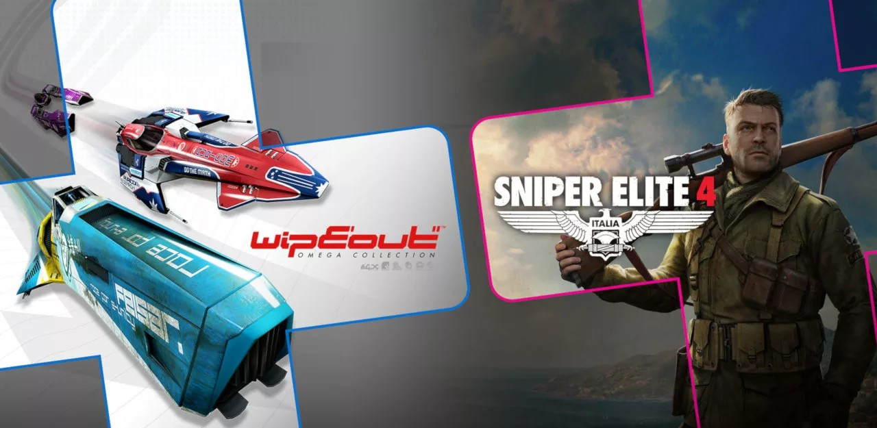 Sniper Elite 4 And Wipeout Omega Collection Round Out August's