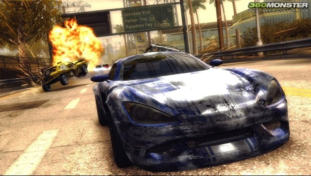 Burnout Revenge Content on the Market Place