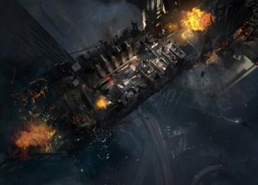 Call Of Duty: Ghosts - Free Fall Multiplayer Bonus Map