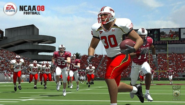 Demo: NCAA 08 Football