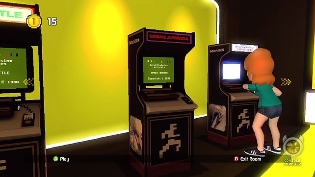 Entering the Game Room a Console Monster first look