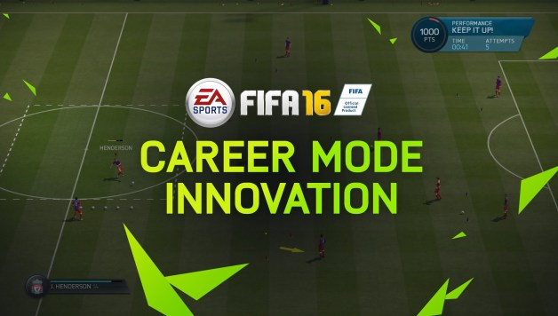 FIFA 16 - Career Mode Innovations