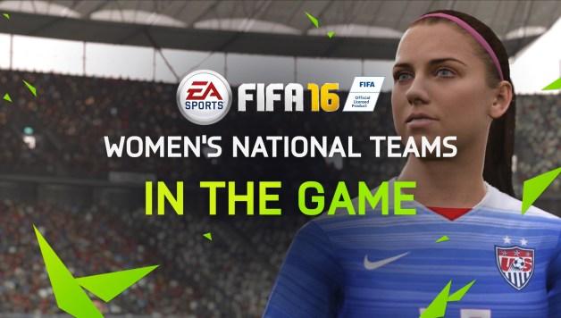 FIFA 16 - Women's National Teams