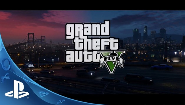 Grand Theft Auto V - PS4 Trailer