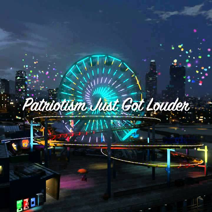 Grand Theft Auto V - The Independence Day Special -- Fireworks